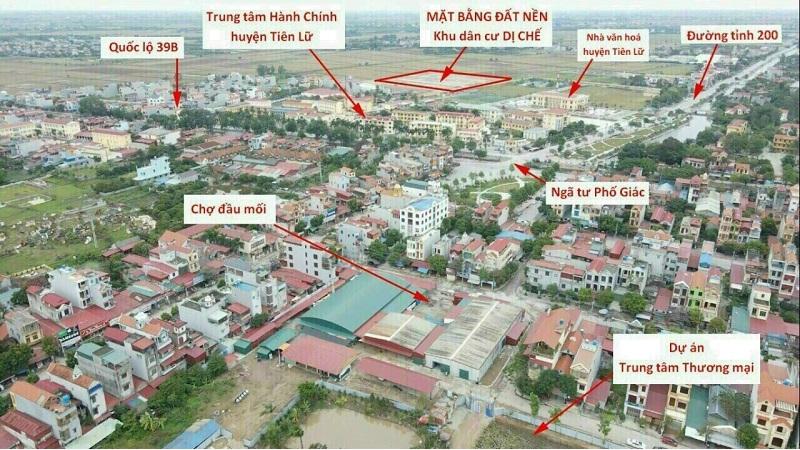 Flycam 3 khu đấu giá Dị Chế - Tiên Lữ - Hưng YênFlycam 3 khu đấu giá Dị Chế - Tiên Lữ - Hưng Yên