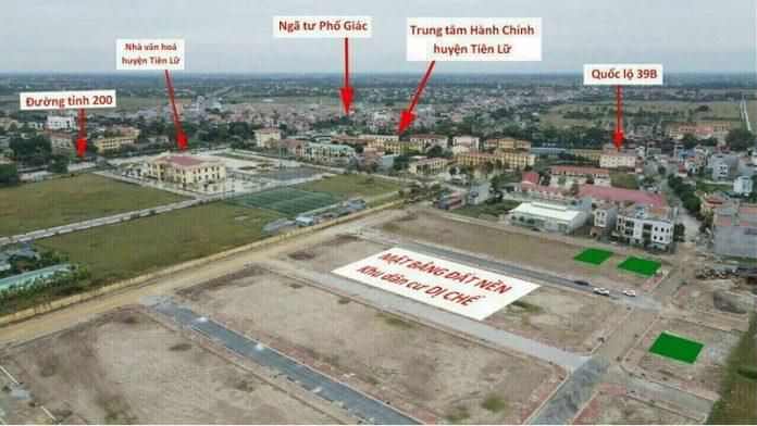 Flycam 4 khu đấu giá Dị Chế - Tiên Lữ - Hưng Yên