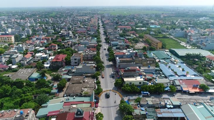 Flycam một góc Tiền Hải - Thái Bình