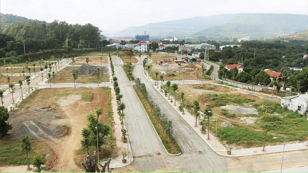 Flycam tiến độ dự án The Spring Town Xuân Mai - Hòa Lạc tháng 12/2020