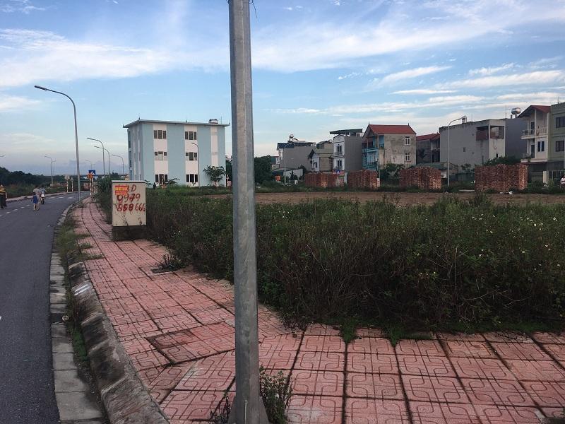 Hạ tầng khu đất đấu giá Cự Khối - Long Biên