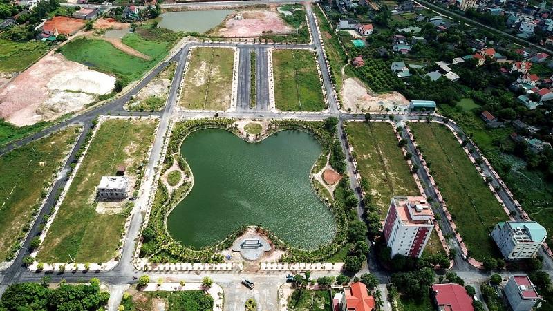 Hình ảnh thực tế 1 dự án Chí Linh Palm City - Trường Linh Hải Dương
