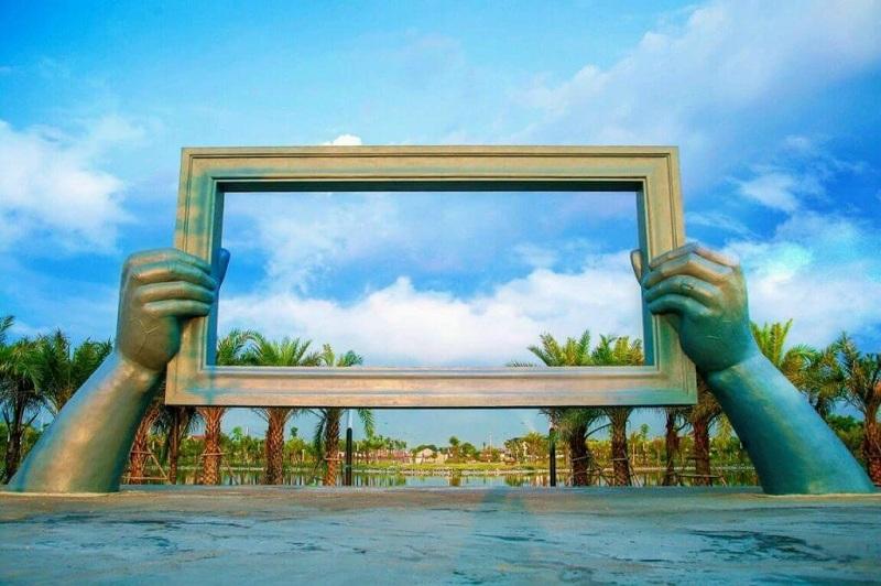 Hình ảnh thực tế 2 dự án Chí Linh Palm City - Trường Linh Hải Dương
