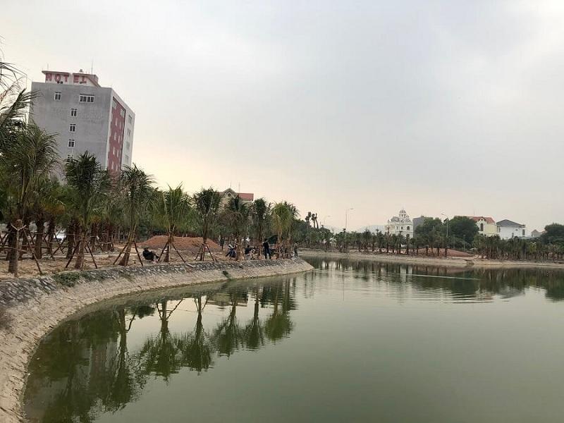 Hình ảnh thực tế 4 dự án Chí Linh Palm City - Trường Linh Hải Dương