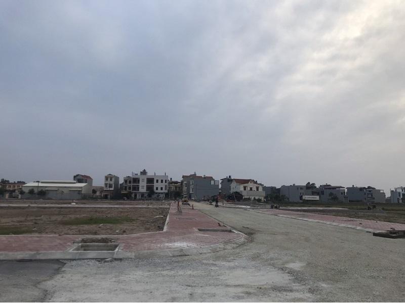 Hình ảnh thực tế hạ tầng 3 khu đấu giá Dị Chế - Tiên Lữ - Hưng Yên