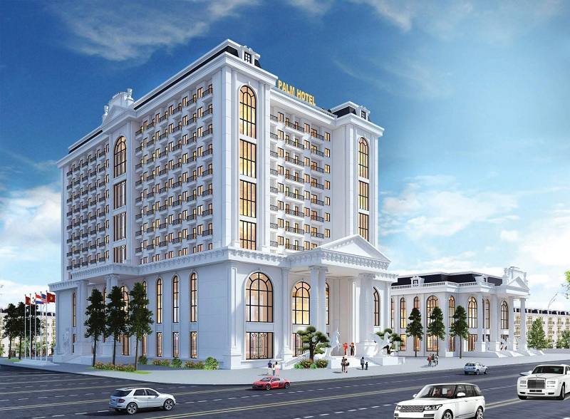Khách sạn 4 sao dự án Chí Linh Palm City - Trường Linh Hải Dương