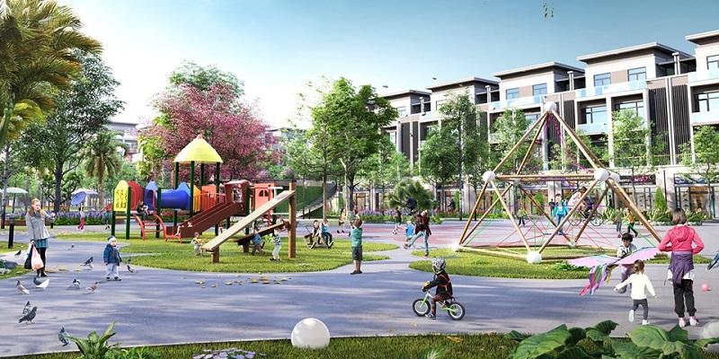 Khu vui chơi trẻ em đất đấu giá Đông Phong - Yên Phong - Bắc Ninh Văn Phú Invest