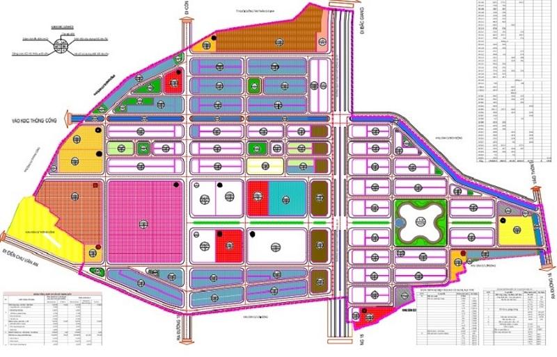 Mặt bằng tổng quan dự án Chí Linh Palm City - Trường Linh Hải Dương