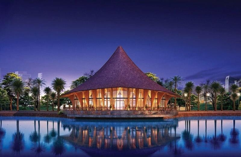 Nhà hàng dự án Chí Linh Palm City - Trường Linh Hải Dương