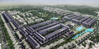 Phối cảnh 1 đất đấu giá Đông Phong - Yên Phong - Bắc Ninh Văn Phú Invest