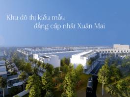 Phối cảnh 2 dự án The Spring Town Xuân Mai - Hòa Lạc
