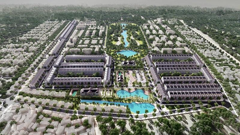 Phối cảnh 3 đất đấu giá Đông Phong - Yên Phong - Bắc Ninh Văn Phú Invest