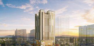 Phối cảnh chung cư BRG Diamond Residence 25 Lê Văn Lương