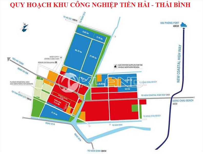 Quy hoạch KCN Tiền Hải - Thái Bình