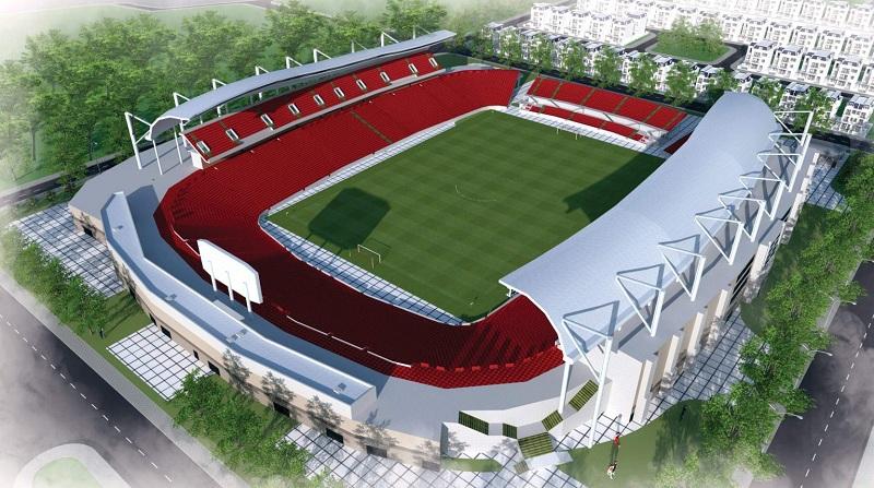 Sân vận động dự án Chí Linh Palm City - Trường Linh Hải Dương