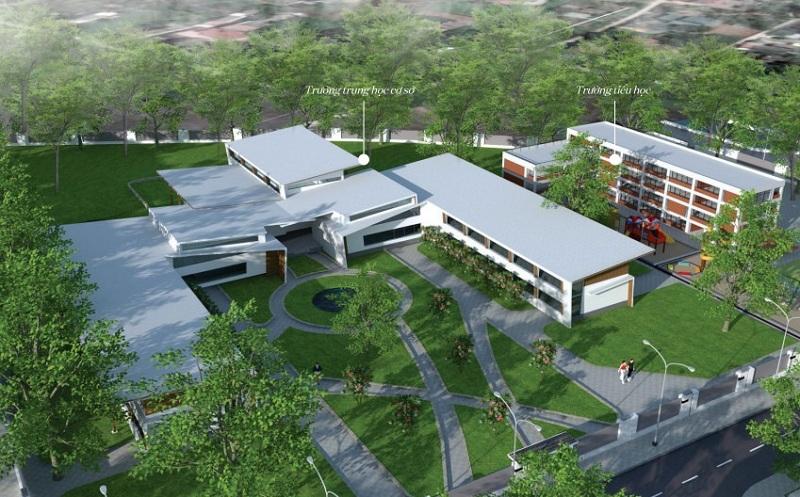 Trường học dự án Chí Linh Palm City - Trường Linh Hải Dương
