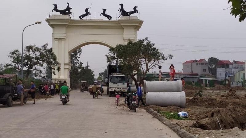 Ảnh thực tế 1 dự án Bảo Long New City Hương Mạc - Từ Sơn