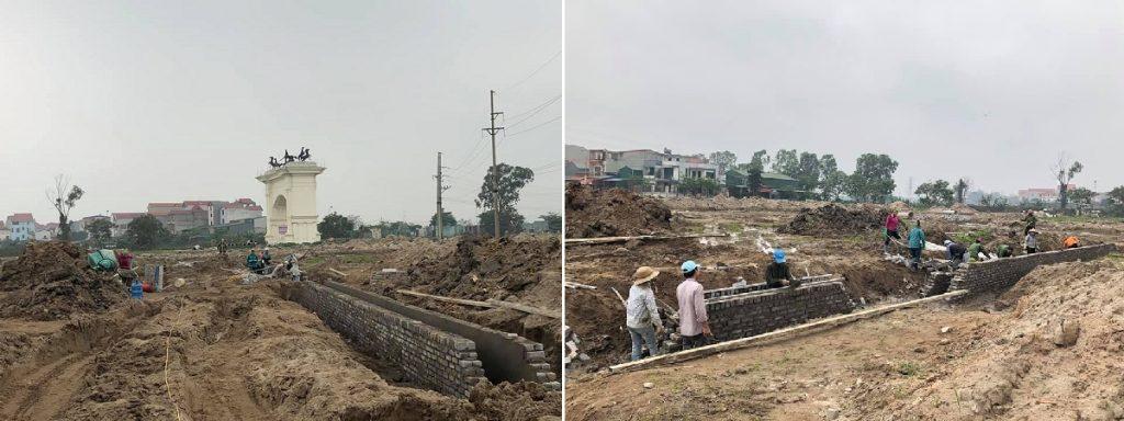 Ảnh thực tế 2 dự án Bảo Long New City Hương Mạc - Từ Sơn