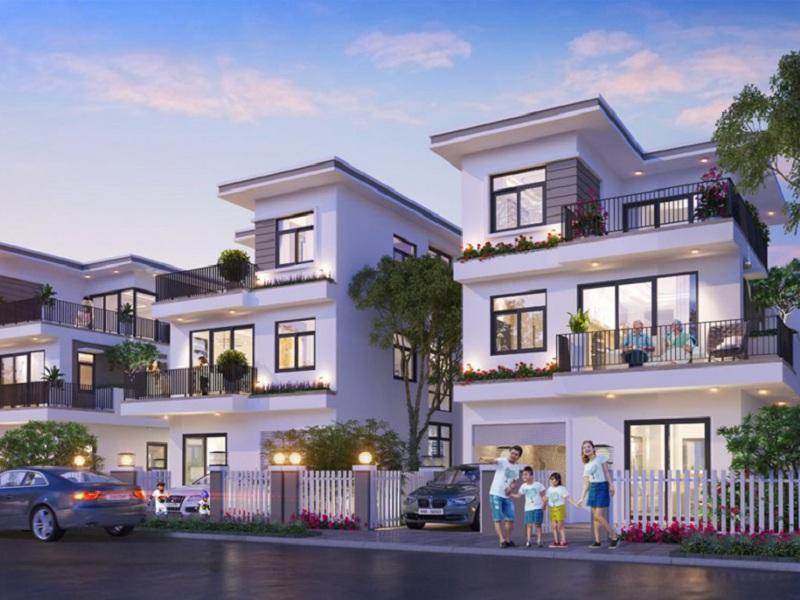 Biệt thự dự án CEO Mê Linh - Hana Garden City