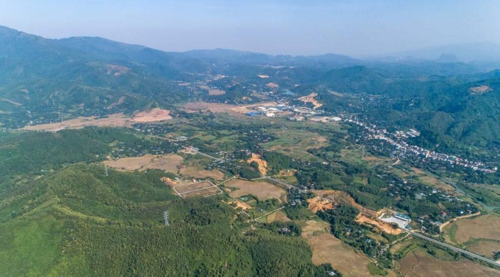 Flycam 1 dự án đất nền Hòa Bình Green Valley Hòa Lạc
