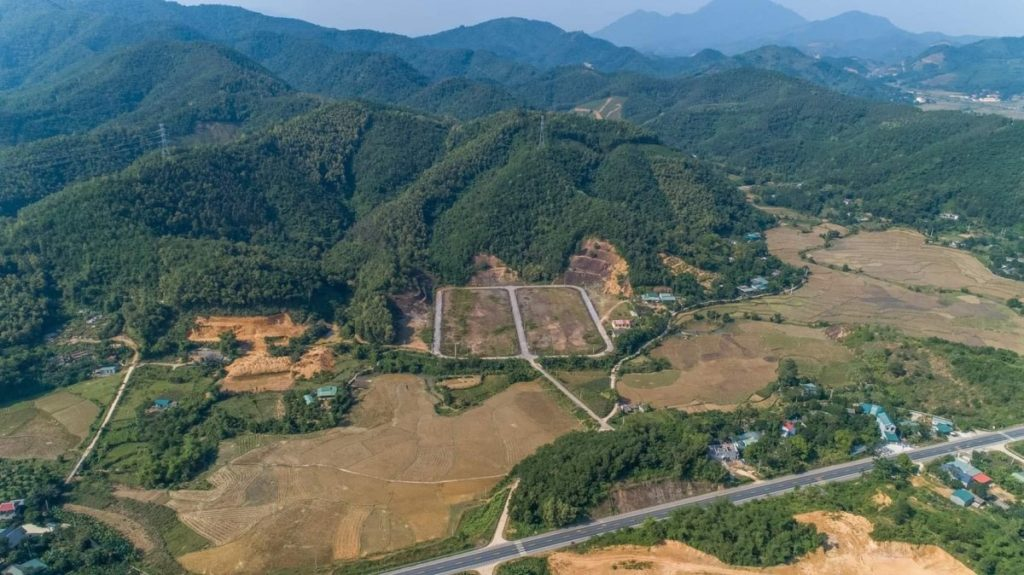 Flycam 2 dự án đất nền Hòa Bình Green Valley Hòa Lạc