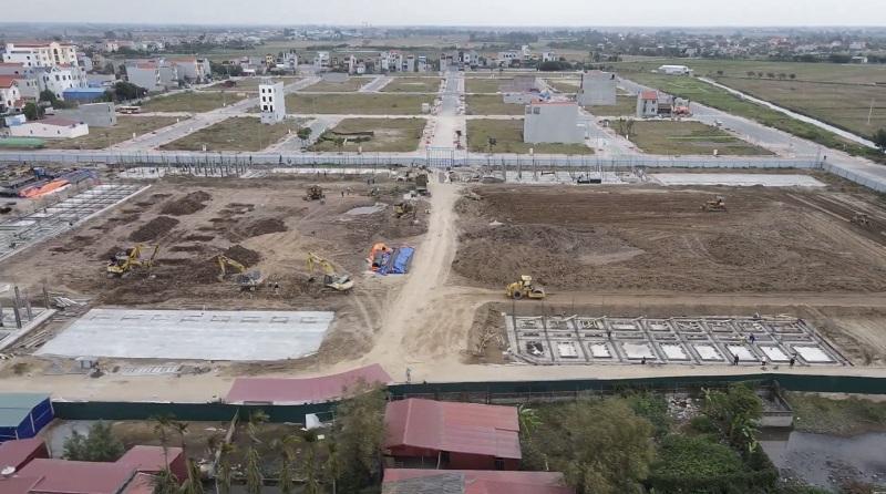 Flycam 2 Shophouse - Kiot Chợ Tiên Lữ - Hưng Yên