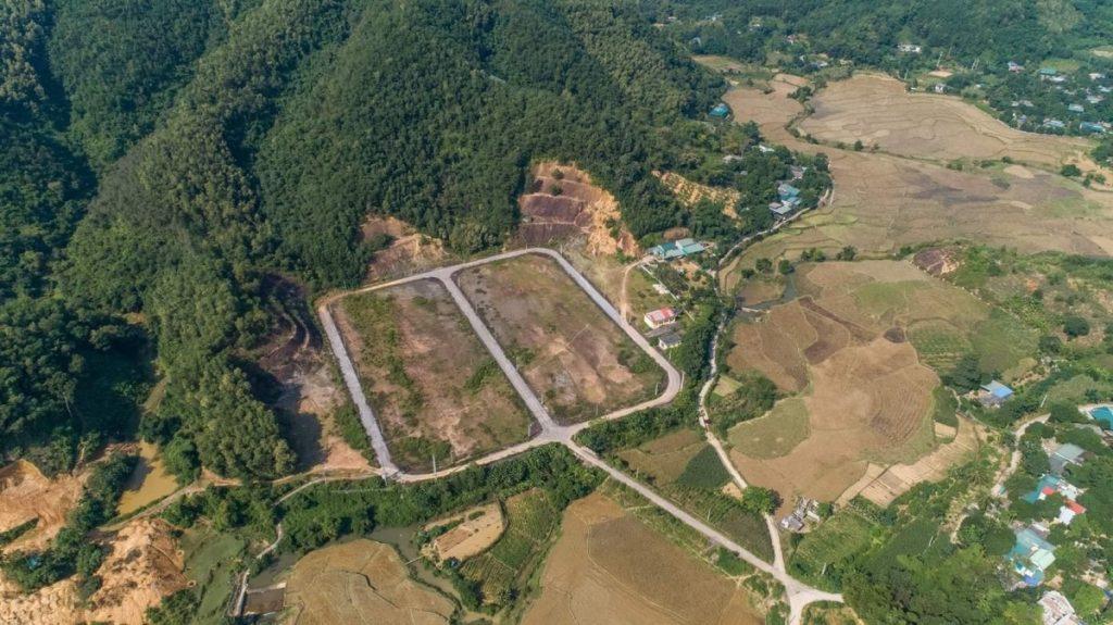 Flycam 3 dự án đất nền Hòa Bình Green Valley Hòa Lạc