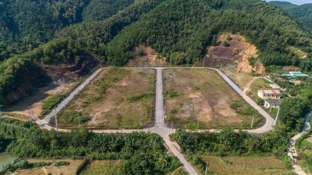 Flycam 4 dự án đất nền Hòa Bình Green Valley Hòa Lạc