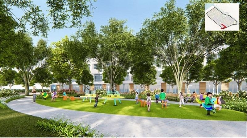 Không gian xanh dự án CEO Mê Linh - Hana Garden City