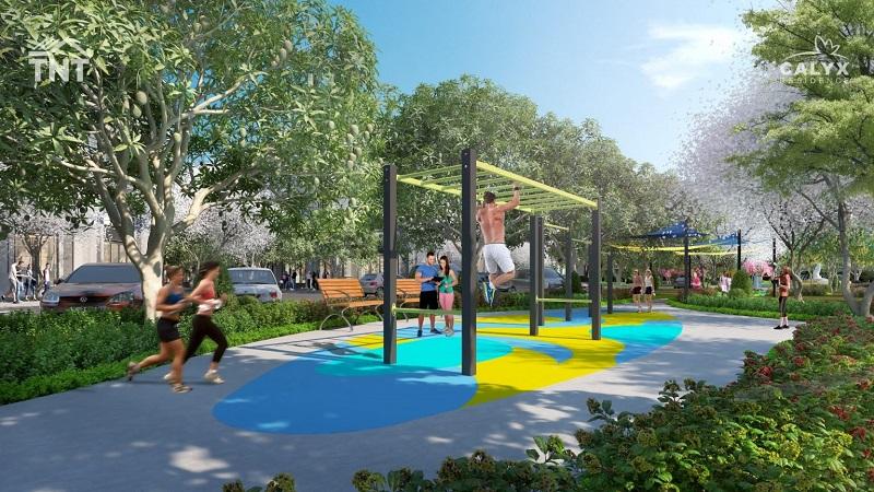 Khu thể dục thể thao dự án Calyx Residence 319 Uy Nỗ - Đông Anh