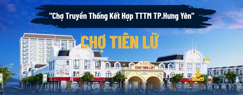 Mở bán Shophouse - Kiot Chợ Tiên Lữ - Hưng Yên