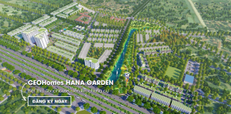 Phối cảnh 1 dự án CEO Mê Linh - Hana Garden City