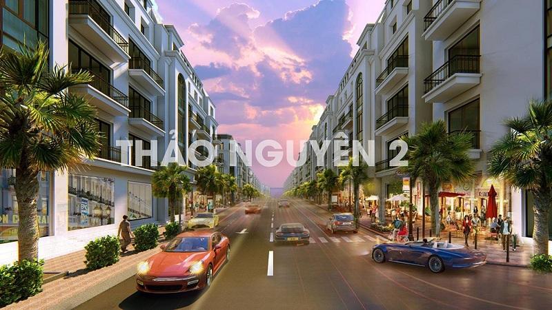 Phối cảnh 2 dự án Bảo Long New City Hương Mạc - Từ Sơn