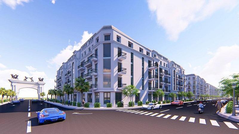 Phối cảnh 3 dự án Bảo Long New City Hương Mạc - Từ Sơn