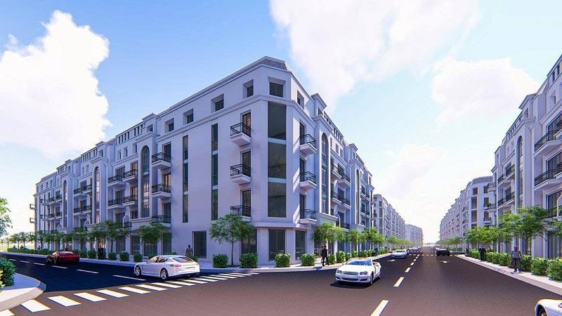 Phối cảnh 4 dự án Bảo Long New City Hương Mạc - Từ Sơn