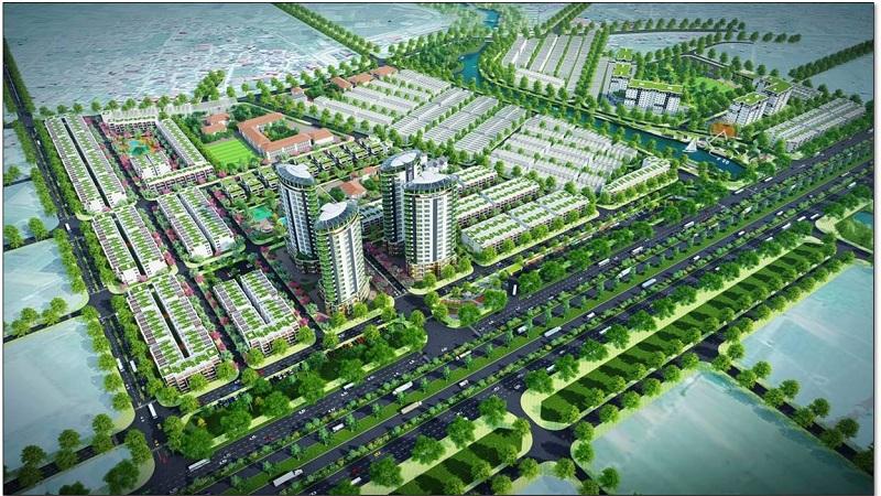 Phối cảnh dự án CEO Mê Linh - Hana Garden City