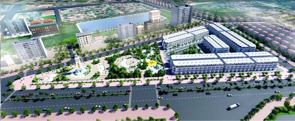 Phối cảnh dự án TSG Hòa Bình Centre