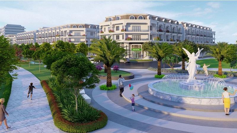 Quảng trường dự án Calyx Residence 319 Uy Nỗ - Đông Anh