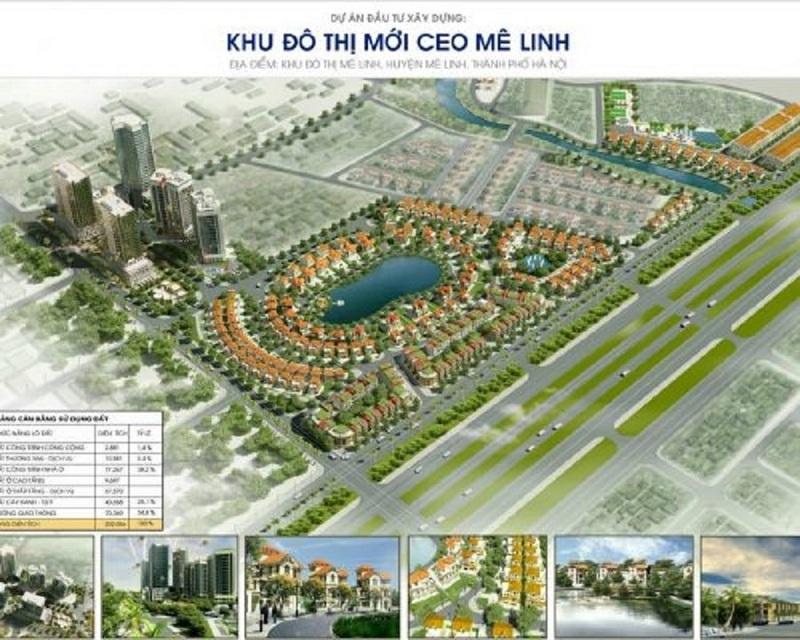 Quy hoạch dự án CEO Mê Linh - Hana Garden City