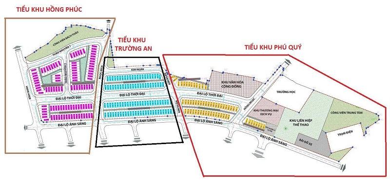 Quy hoạch phân khu dự án Bảo Long New City Hương Mạc - Từ Sơn