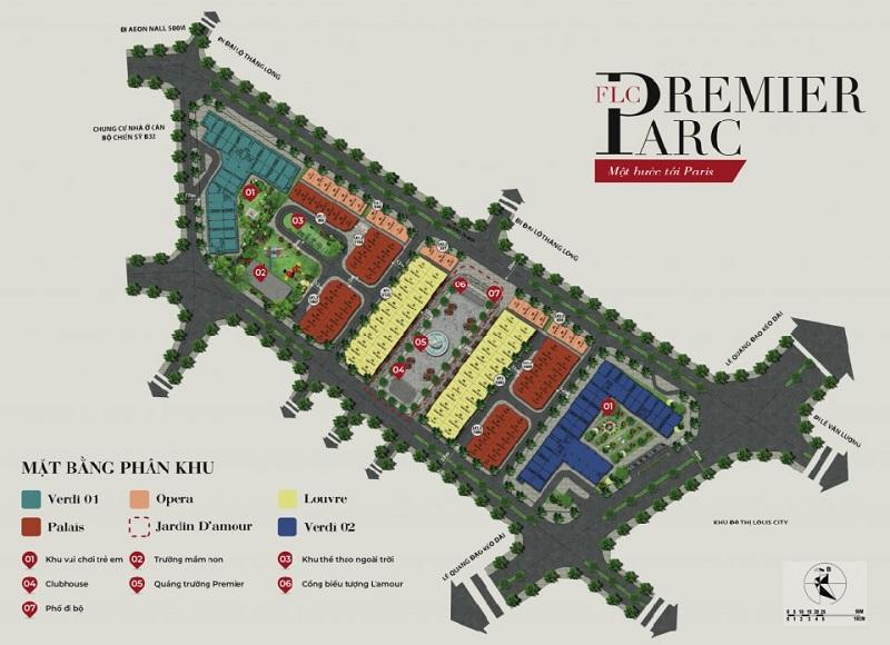 Quy hoạch phân khu FLC Premier Parc Lê Quang Đạo - Đại Mỗ