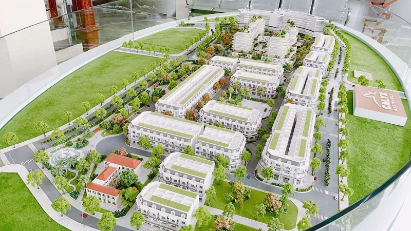 Sa bàn dự án Calyx Residence 319 Uy Nỗ - Đông Anh
