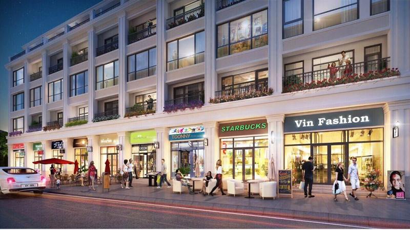 Shophouse dự án CEO Mê Linh - Hana Garden City