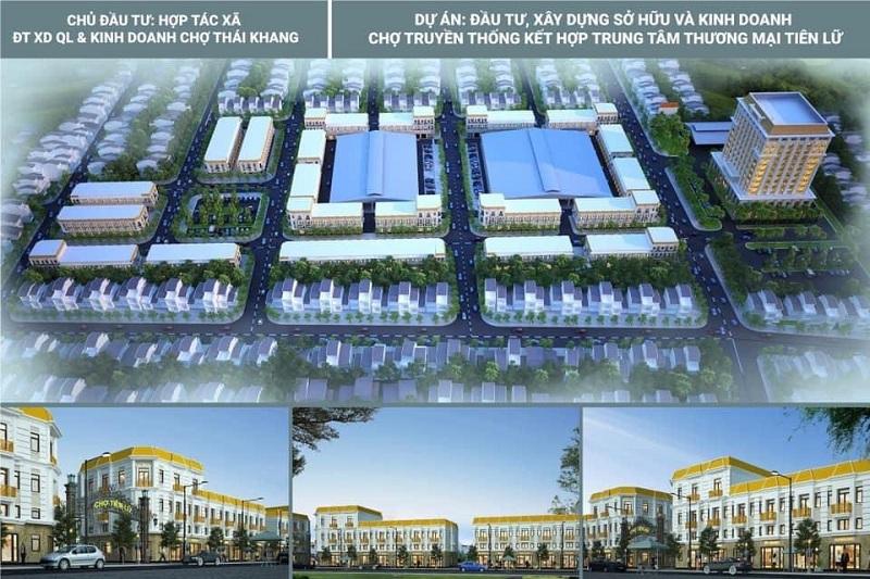Thông tin dự án Shophouse - Kiot Chợ Tiên Lữ - Hưng Yên