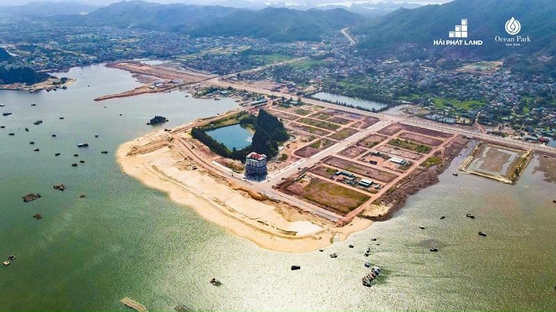 Tiến độ dự án Ocean Park Quan Minh - Vân Đồn