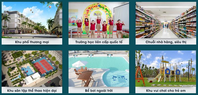 Tiện ích dự án CEO Mê Linh - Hana Garden City