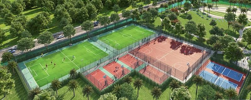Tiện ích xanh dự án CEO Mê Linh - Hana Garden City