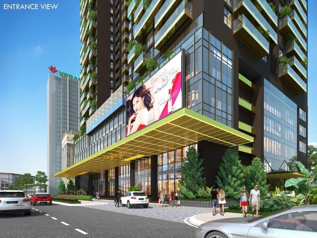 Trung tâm thương mại Green Diamond 93 Láng Hạ Vinaconex