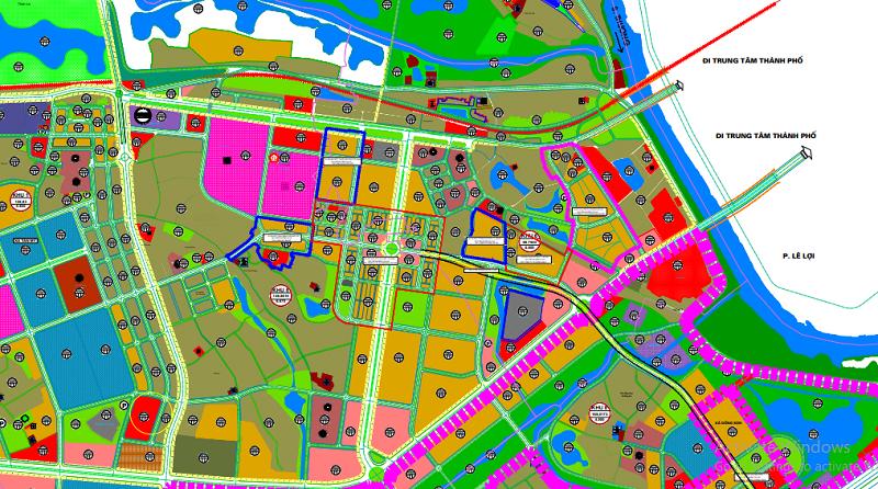 Bản đồ sử dụng đất Thành phố Bắc Giang