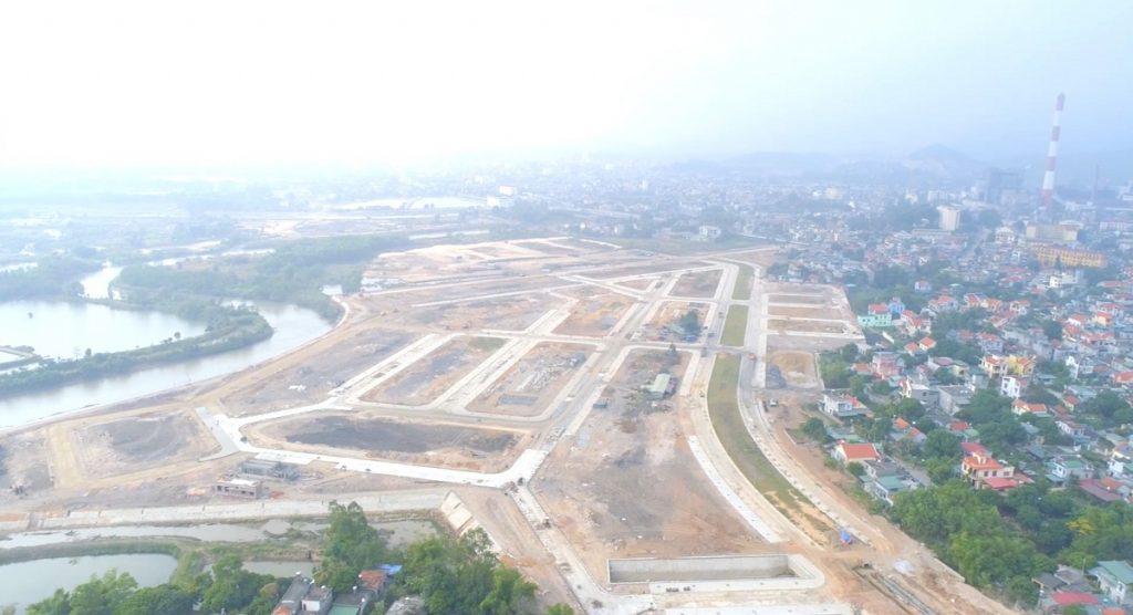 Flycam 2 tiến độ dự án Felicity Trưng Vương - Uông Bí